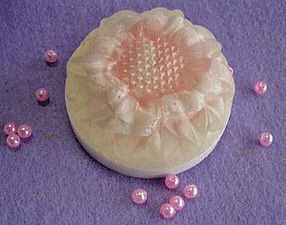 Мыло из основы «Нежная роза». Ярмарка Мастеров - ручная работа, handmade.
