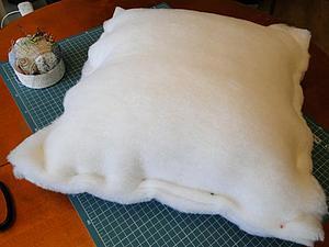 Сшить подушку своими руками из синтепона
