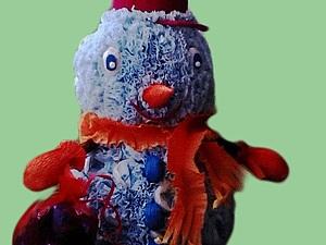 Снеговик из конфет. Ярмарка Мастеров - ручная работа, handmade.