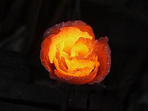Создание кованой розы. Ярмарка Мастеров - ручная работа, handmade.