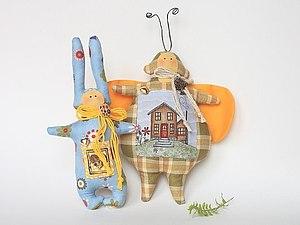 Игрушки с лавандой | Ярмарка Мастеров - ручная работа, handmade