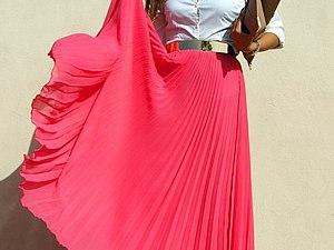 Модная плиссировка: подборка стильных нарядов | Ярмарка Мастеров - ручная работа, handmade