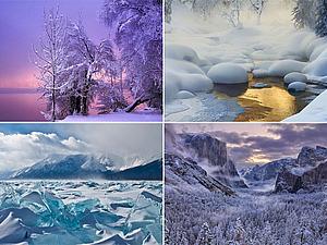 Потрясающие зимние пейзажи | Ярмарка Мастеров - ручная работа, handmade