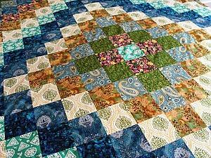 Как рассчитать расход ткани на лоскутное одеяло. Ярмарка Мастеров - ручная работа, handmade.