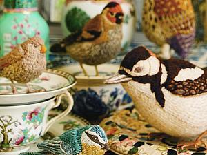 Лимитированная коллекция текстильных пташек от Catherine Frere-Smith | Ярмарка Мастеров - ручная работа, handmade