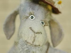 Создаем свою сказку: валяем игрушку «Серенький Козлик». Ярмарка Мастеров - ручная работа, handmade.