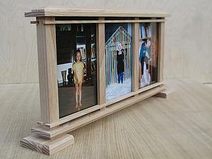 Мастерим настольную рамку для фото. Ярмарка Мастеров - ручная работа, handmade.