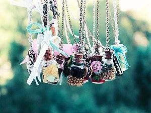 Волшебные бутылочки с капелькой счастья! | Ярмарка Мастеров - ручная работа, handmade