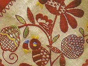 От Владимирской вышивки к фантазийному шву. Ярмарка Мастеров - ручная работа, handmade.