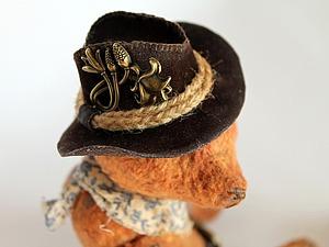 Шьем ковбойскую шляпу для мишки или куклы | Ярмарка Мастеров - ручная работа, handmade