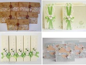 Новогодняя скидка на свадебные приглашения! | Ярмарка Мастеров - ручная работа, handmade