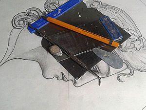 Делаем барельеф: женский профиль. Ярмарка Мастеров - ручная работа, handmade.