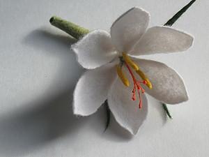 МК по валянию цветка Крокуса. | Ярмарка Мастеров - ручная работа, handmade