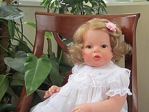 Малышка Настенька - кукла реборн Инны Богдановой | Ярмарка Мастеров - ручная работа, handmade