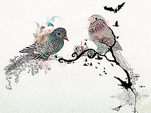 10 картинок птиц