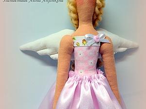 МК по пошиву куклы тильды. Розовый ангел | Ярмарка Мастеров - ручная работа, handmade