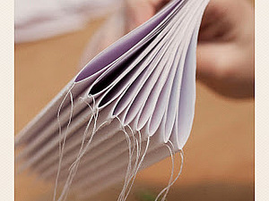 Fast binding with a sewing machine!