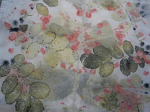 Натуральное крашение тканей в технике ЭКО ПРИНТ | Ярмарка Мастеров - ручная работа, handmade