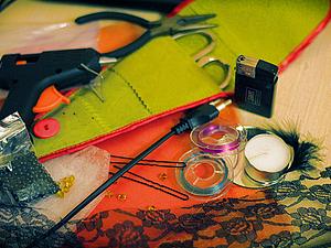 """Делаем ПСЕВДО-лилейник """"Оранжевая загадка"""". Ярмарка Мастеров - ручная работа, handmade."""