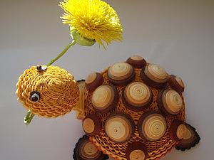 Черепашка-очаровашка. Ярмарка Мастеров - ручная работа, handmade.