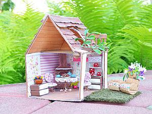 Видеоурок: кукольный домик из коробки. Часть 2. Ярмарка Мастеров - ручная работа, handmade.