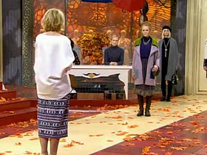 Пальто с зайцами в Модном приговоре на Первом | Ярмарка Мастеров - ручная работа, handmade