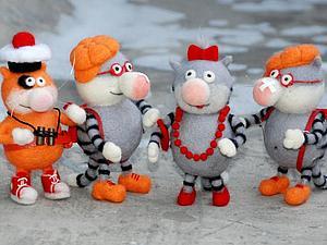 Сегодня коты Рулят)))   Ярмарка Мастеров - ручная работа, handmade