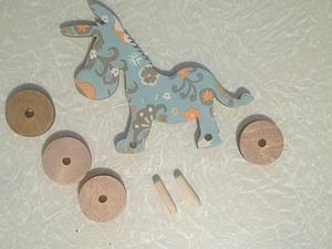 Крепление колес на игрушке | Ярмарка Мастеров - ручная работа, handmade