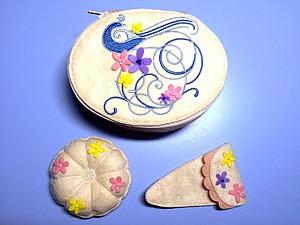 Шкатулка для рукодельницы, или Ода шитью из фетра вручную. Ярмарка Мастеров - ручная работа, handmade.