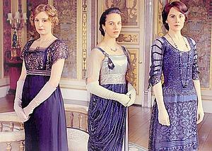 Лавандовый цвет в нарядах героев сериала «Аббатство Даунтон». Ярмарка Мастеров - ручная работа, handmade.