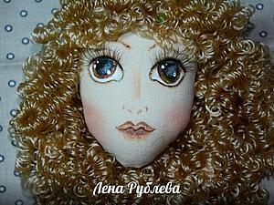 Создаем текстильную куколку Софи. Часть 2: рисуем личико. Ярмарка Мастеров - ручная работа, handmade.