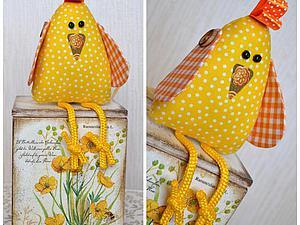 Шьем веселого пасхального цыпленка. Ярмарка Мастеров - ручная работа, handmade.