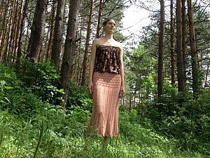 Скидка 10 % на юбку длинную | Ярмарка Мастеров - ручная работа, handmade