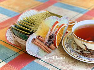 Делаем коробочку для чайных пакетиков своими руками. Ярмарка Мастеров - ручная работа, handmade.