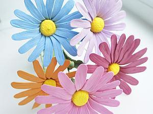 Новинка! Разноцветные ромашки! | Ярмарка Мастеров - ручная работа, handmade