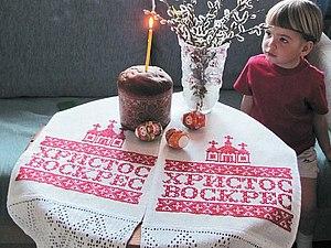 Вышивка рушника на заказ   Ярмарка Мастеров - ручная работа, handmade