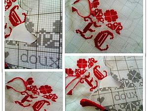 Мишка именной красный... для Елизаветы... | Ярмарка Мастеров - ручная работа, handmade