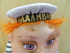 Супер быстрая бескозырка для куклы. Ярмарка Мастеров - ручная работа, handmade.