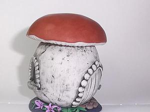 Делаем домик-шкатулку из полимерной глины. Ярмарка Мастеров - ручная работа, handmade.