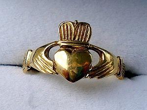 Необыкновенное великолепие кладдахского (ирландского) кольца | Ярмарка Мастеров - ручная работа, handmade