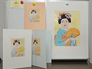 Рисуем открытку.