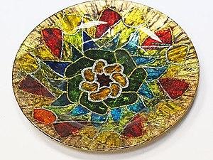 Тарелка с поталью | Ярмарка Мастеров - ручная работа, handmade