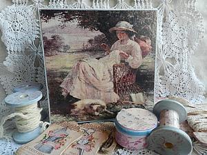 Еще немного о Шкатулке для рукодельницы   Ярмарка Мастеров - ручная работа, handmade