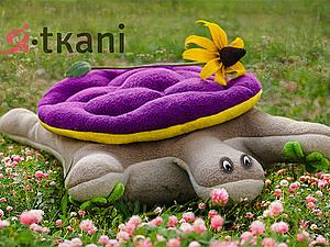 Подушка – игрушка черепах  по имени «Клевер» | Ярмарка Мастеров - ручная работа, handmade
