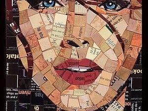 Бумажная мозаика Санди Шимель Голд   Ярмарка Мастеров - ручная работа, handmade