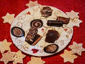 Сладкий декор тарелки. Ярмарка Мастеров - ручная работа, handmade.