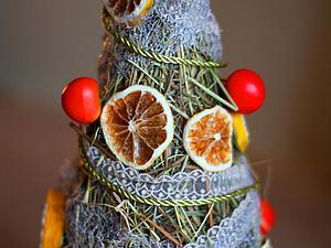 Я ее слепила из того, что было: новогодняя елка своими руками за 1 час | Ярмарка Мастеров - ручная работа, handmade