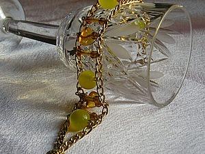 Браслет «Солнечный день» для начинающего бижу-мастера. Ярмарка Мастеров - ручная работа, handmade.