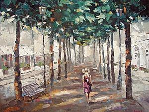 Яркий и теплый импрессионизм Дмитрия Спироса. Ярмарка Мастеров - ручная работа, handmade.