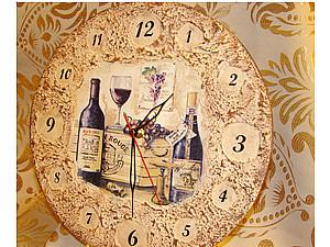 Часы с рельефной пастой | Ярмарка Мастеров - ручная работа, handmade